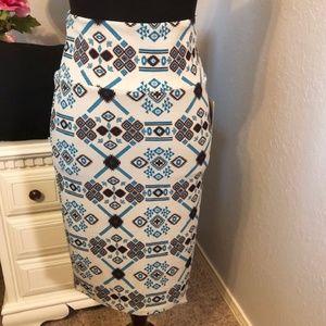 LuLaRoe Cassie Pencil Skirt - XS